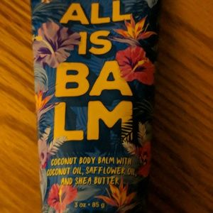 All is balm coconut body balm